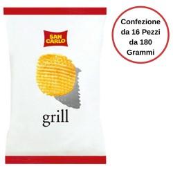 San Carlo Patatine Grill Confezione da 16 Pezzi da 180 Grammi