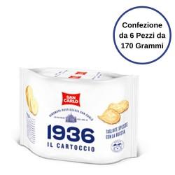 San Carlo 1936 Il Cartoccio Confezione da 6 Pezzi da 170 Grammi