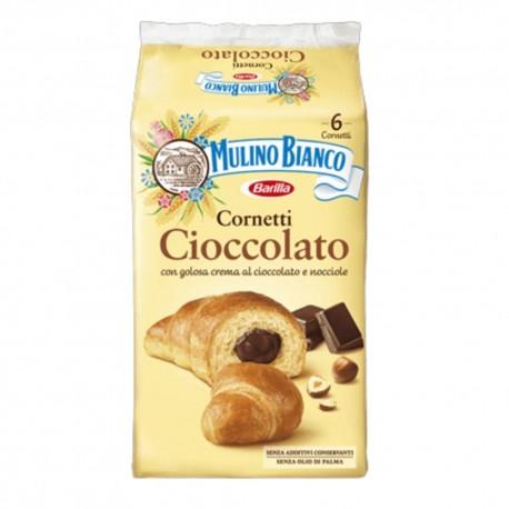 Mulino Bianco Cornetti Al Cioccolato In Confezione Da 6 Cornetti - 300 Grammi Totali