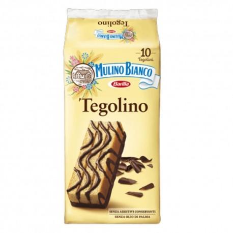 Mulino Bianco Tegolino In Confezione Da 10 Tegolini - 350 Grammi Totali