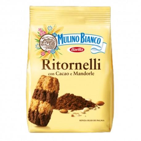 Mulino Bianco Ritornelli Con Cacao E Mandorle In Confezione Da 700 Grammi