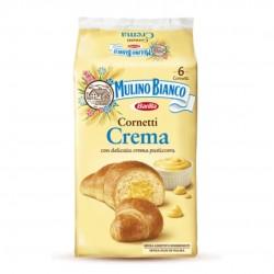 Mulino Bianco Cornetti Alla Crema Pasticcera In Confezione Da 6 Cornetti - 300 Grammi Totali