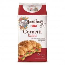 Mulino Bianco Cornetti Salati Con Sesamo In Confezione Da 6 Cornetti - 222 Grammi