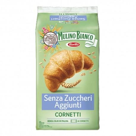 Mulino Bianco Cornetti Senza Zuccheri Aggiunti In Confezione Da 6 Cornetti - 228 Grammi Totali