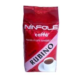 Ninfole Caffe' Rubino In Confezione Caffe' In Grani In Confezione Da 1 Kg