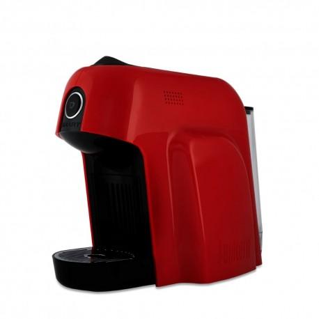 Bialetti Macchina Caffe' Espresso Smart a Capsule Colore Rosso