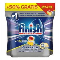 Pastiglie per lavastoviglie Finish Quantum Lemon 27+13 lavaggi