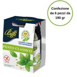 Pesto Genovese Biffi Confezione da 6 pezzi da 190 gr