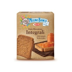 Mulino Bianco Sliced Biscuits The Integral Pack of 315 Grams