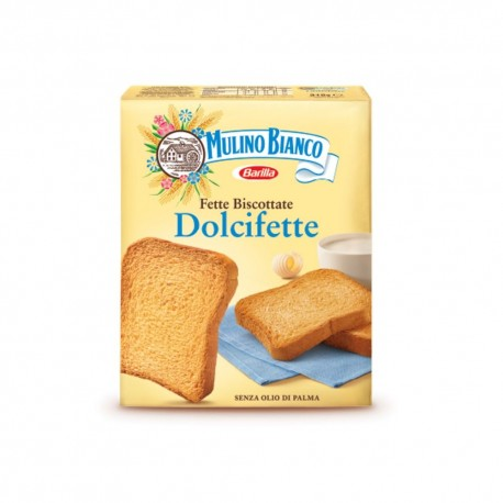 Le Dolcifette Mulino Bianco Sliced Biscuits Pack of 315 Grams