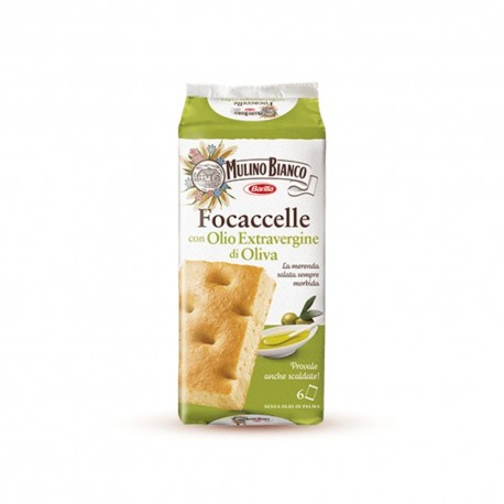 Mulino Bianco Focaccelle Extra virgin Pack of 198 Grams