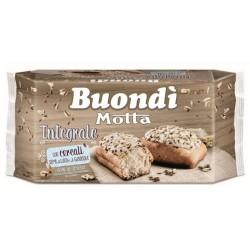 Motta Buondi' Integrale Con Cereali Semi Di Lino E Di Girasole In Confezione Da 6 Merendine - 198 Grammi Totali