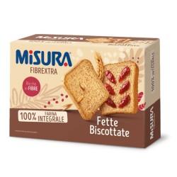 Misura Fibrextra Fette Biscottate Integrali In Confezione Da 320 Grammi
