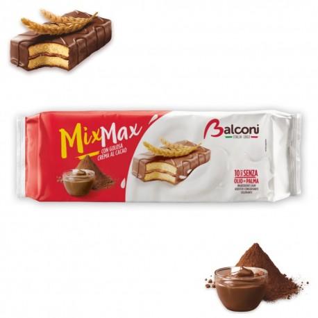 Balconi Mix Max Al Cacao In Confezione Da 10 Brioches - 350 Grammi Totali