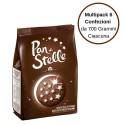 Pan di Stelle Biscotti Al Cioccolato Multipack Da 6 Confezioni Da 700 Grammi Ciascuna