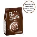 Pan di Stelle Biscotti Al Cioccolato Multipack Da 12 Confezioni Da 700 Grammi Ciascuna