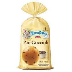 Mulino Bianco Pan Goccioli In Confezione Da 8 Pan Goccioli - 336 Grammi