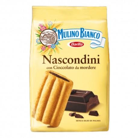 Mulino Bianco Nascondini Con Cioccolato In Confezione Da 330 Grammi