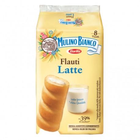 Mulino Bianco Flauti Al Latte In Confezione Da 8 Flauti - 280 Grammi Totali