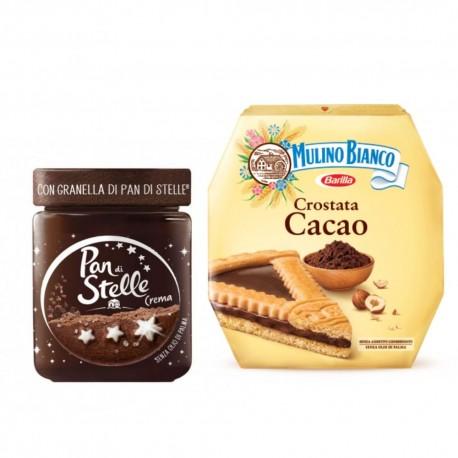 Mulino Bianco Crostata al Cacao e Crema Pan di Stelle