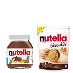 Nutella Biscuits Biscotti da 304 gr + Vasetto Nutella 630 gr