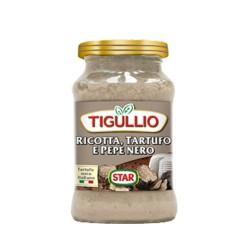 Tigullio Pesto Ricotta Tartufo e Pepe Nero Confezione da 185 grammi