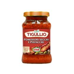 Tigullio Star Pesto Pomodori Secchi e Pistacchi Confezione da 190 grammi