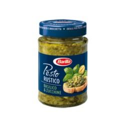 Barilla Pesto Rustico Basilico e Zucchine Confezione da 200 grammi