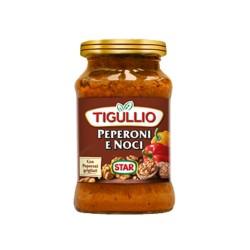Tigullio Star Pesto Peperoni e Noci Confezione da 190 grammi