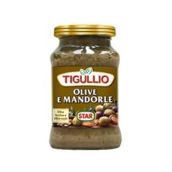 Tigullio Star Pesto Olive e Mandorle Confezione da 190 grammi