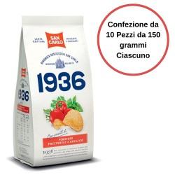 San Carlo Patatine 1936 con Pomodoro, Basilico e Prezzemolo Confezione da 10 Pezzi da 150 grammi