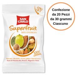 San Carlo Frutta secca Superfruit Mix Energia Confezione da 20 Pezzi
