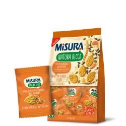 Misura Snack Croccanti con Avena, Semi di Zucca e Girasole Confezione da 224 grammi