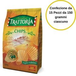San Carlo Patatine Autentica Trattoria Confezione da 15 Pezzi da 150 grammi