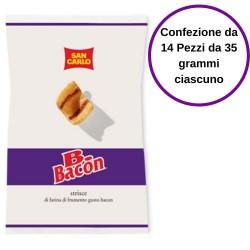 San Carlo Patatine B.Bacon Confezione da 14 Pezzi da 35 Grammi