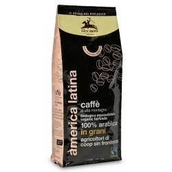 CAFFE' IN GRANI 100% ARABICA BIOLOGICO 500 GRAMMI ALCE NERO