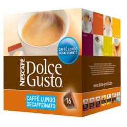 Capsule di Caffè con Contenitore Nescafé Dolce Gusto 94331 Caffè Lungo Decaffeinato 16 uds