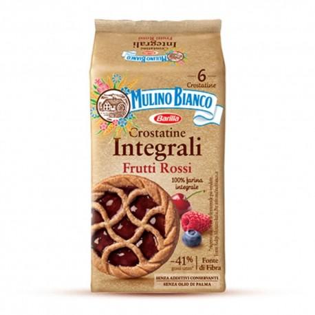 Mulino Bianco Crostatine Integrali ai Frutti Rossi Confezione da 216 grammi
