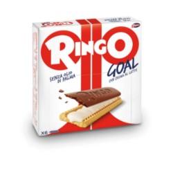 Pavesi Ringo Goal Biscotti con Crema al Latte Confezione da 168 grammi