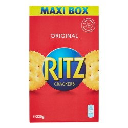 Ritz Classici Crackers Cotti Al Forno Astuccio da 220 Grammi Snack Salati