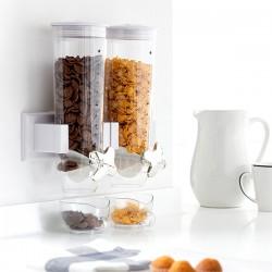 Dispenser di Cereali Doppio da Parete