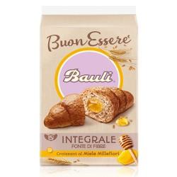 Bauli Croissant Integrali  BuonEssere al Miele Millefiori In confezione da 5 Pezzi