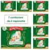 Saponetta Profumata Borotalco Originale 7 Confezioni da 2 Pezzi da 100 Grammi