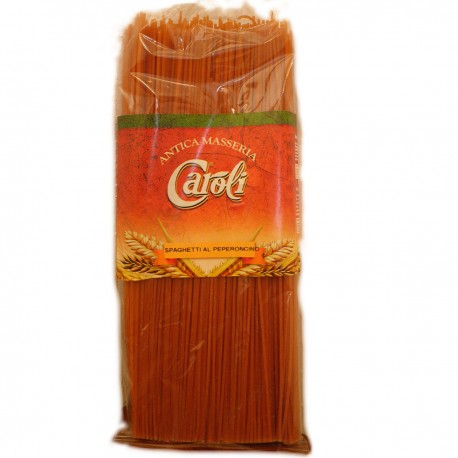 CAROLI SPAGHETTI WITH CHILLI 500 GR