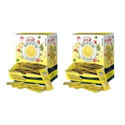 Gaia Succo di Limone in Bustine Due Confezione da 198 bustine da 5 ml Ciascuna