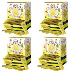 Gaia Succo di Limone in Bustine Quattro Confezione da 198 bustine da 5 ml Ciascuna