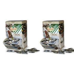 GAIA Pepe Nero Due Confezione Da 500 Bustine 0,2 Grammi Ciascuna
