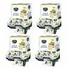 Gaia Aceto di Vino Bianco Quattro confezioni da 198 Bustine da 5 ml Ciascuna