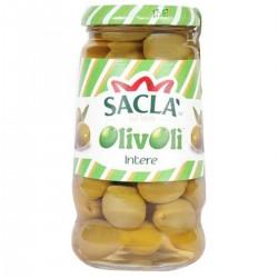OLIVE VERDI INTERE 300 G SACLA' OLIVOLI