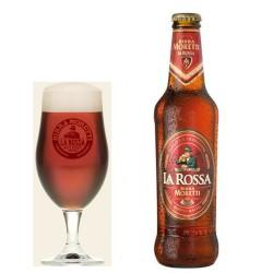 BIRRA MORETTI LA ROSSA CL33X24PZ GRADAZIONE ALCOLICA 7.2%
